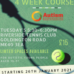 Tennis - New 4-Week Course